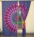 Round Mandala Tapestry Curtain