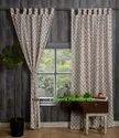 Beautiful Buti Print Hand Printed Curtains