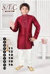 Kids Ethnic Kurta Pajama, Size: 1-10