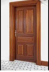 RE076 Wooden Safety Door