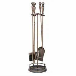Brass Firetools Set