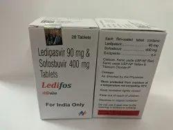 Ledifos Sofosbuvir 400mg Ledipasvir 90mg