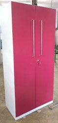Dortek Pink Iron Almirah, For Home, Size/Dimension: 6.5 X 3 Feet