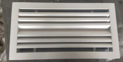 Powder Coated Stripline Diffusers One Way Two Way, Linear, Shape: Rectangle