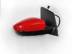 6RG857502 Side View Mirror For VW Polo RH With Indicator Autofold (7 Wire)