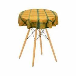Round Shibori Table Cover