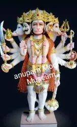 Marble Panchmukhi Hanuman Statues