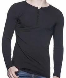 Casual Wear Plain Stylish Lycra T Shirt