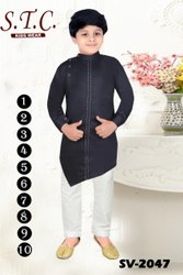 Kids Designer Kurta Pajama, Size: 1-10