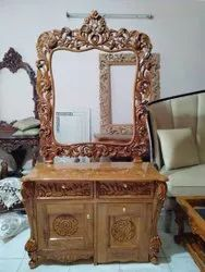 Wooden Carved Dressing Table