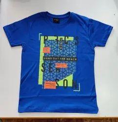 Cotton Mixed Boys Printed T Shirts