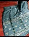 Linen Zari Weaving Jamdani Sarees