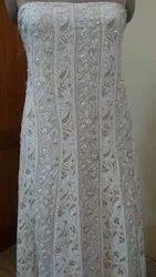 White Chikankari Suit
