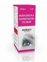 Moxifloxacin HCL & Dexamethasone