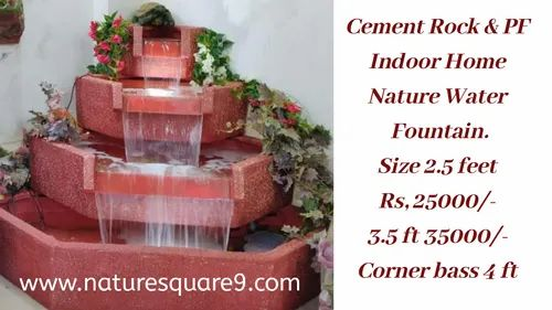 Natural Stone Waterfalls Fountain 20kg Rs 6500 20 Container Nature Square Id 22867654612