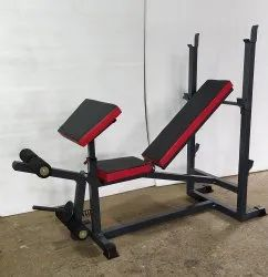 Multi Bench Press With Arm Curl Without Rod & Weight