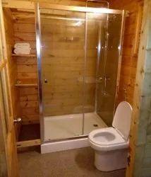 Wooden Washroom