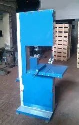 2hp Vertical bandsaw machine, For Industrial, Size/Dimension: 18inch