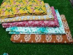 Meera Handicrafts Sanganeri Fabric Cotton Fabric