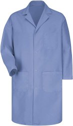 Reusable Blue Doctor Lab Coat, For Hospital, Size: Large