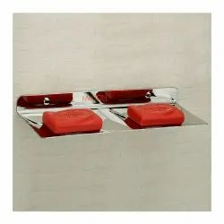 SS Double Soap Dish