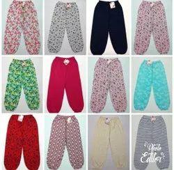 Multicolor Ladies Printed cotton 3 /4 Capri