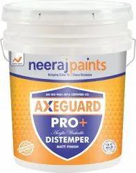 Matt Liquid Axeguard Pro Distemper, For Wall, Packaging Type: Bucket