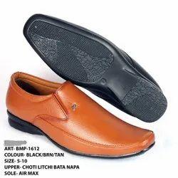 Big Egoss Formal BMP- 1612 Mens Choti Litchi Bata Napa Leather Slip On Shoes, 5- 10