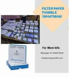 Ambient Glass fiber & Cellulose Whataman Laboratory Filter