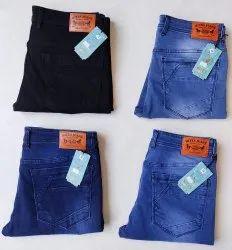 Blue Denim Kites slim fit jeans, Size: Bigger Sizes