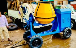 Color Coated Concrete Mixer