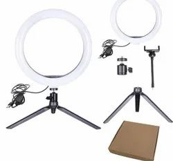 Table top ring light 10 inch