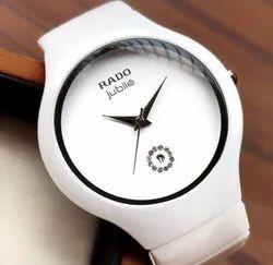 Rado Men White Ceramic Watch, For Personal Use