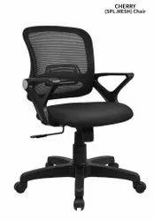Standard Black Cherry Spl. Mesh Back Office Chair
