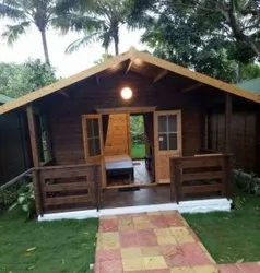 Prefabricated Wooden Cottage