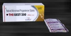 Natural Micronised Progesterone 200mg tablet