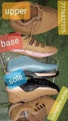 Pvc Boot Softy Leather Shoe material
