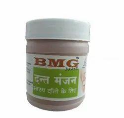 BMG Powder Ayurvedic Dant Manjan, Packaging Size: 50 Gm