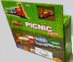 Picnic Express Toy Train Set, Model Name/Number: 10357