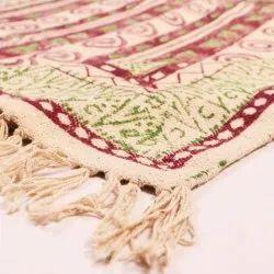 Cotton Hand Block Printed Rugs