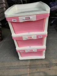 Nilkamal Chester 23 - 3 Drawer Plastic Cabinet