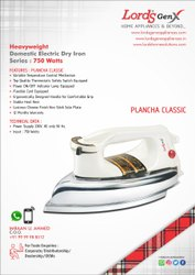 Heavyweight Plancha Iron (Chrome Plated)