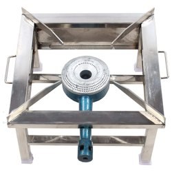Stainless Steel Gas Stove, For Restaurant