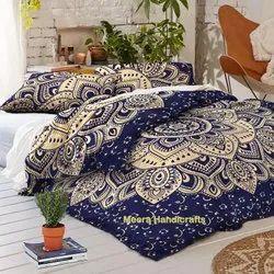 Mandala Handmade Cotton Duvet Cover