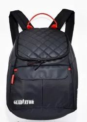 GLADIATOR Polyester Small Backpack, Number Of Compartments: 3, Bag Capacity: 24 L