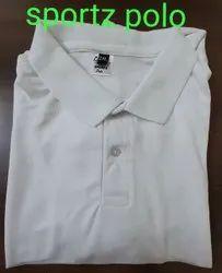 Unisex Half Sleeve White T Shirt With Hand Rub 100 Cotton Matty