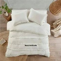 Quilts Solid Color Duvet Cover With Pillow