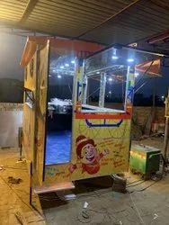 Ms And Ss Portable Food Cart, Vehicle Model: Non Movable