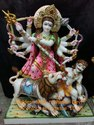 Goddess Maa Maheswari Devi Multi color Paint Statue