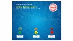 Public Toilet Feedback Device